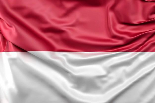 Vlag van indonesi Foto  Gratis Download