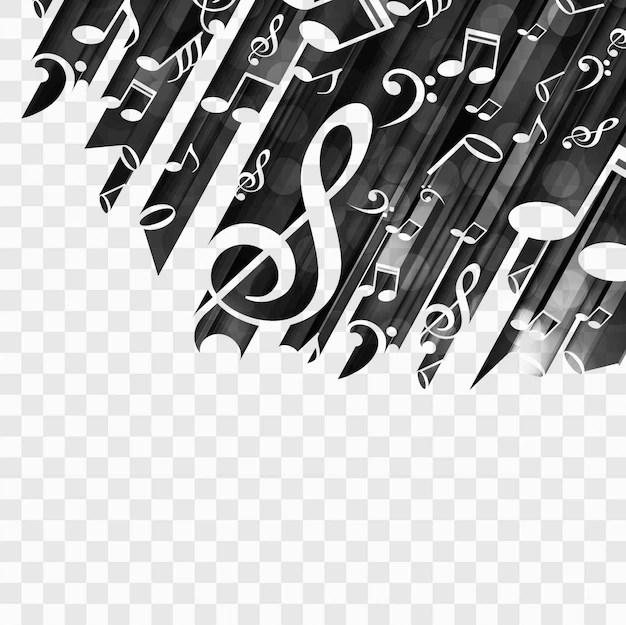 Moderne muziek achtergrond Vector  Gratis Download