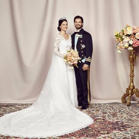 Adelshochzeit in Schweden Prinz Carl Philip heiratet  GALAde
