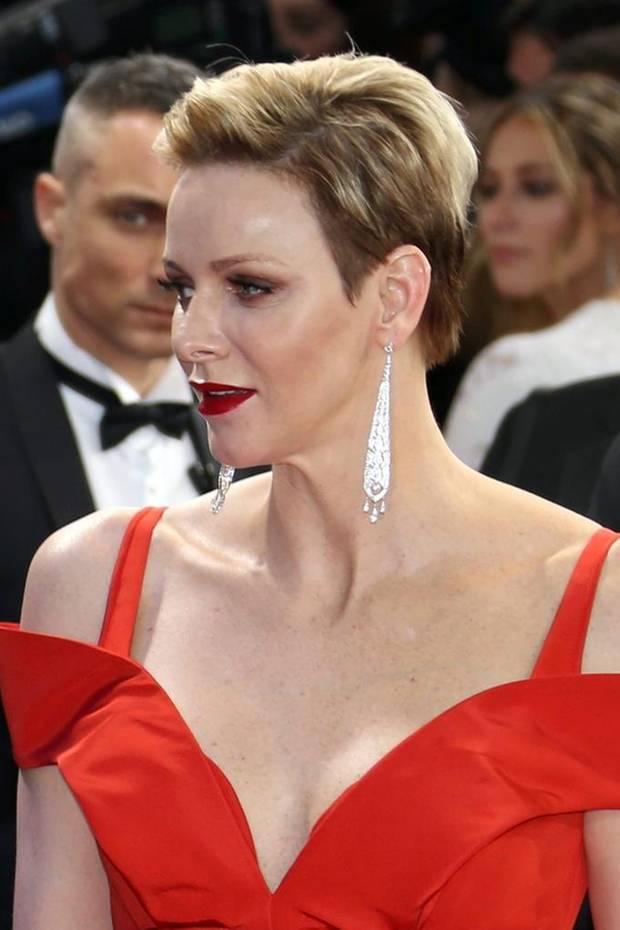 Star Frisuren Charlène Von Monaco GALA De