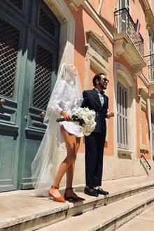 Hochzeit von Cornelia Poletto und Rdiger Grube Minister Steinmeier ist Trauzeuge  GALAde