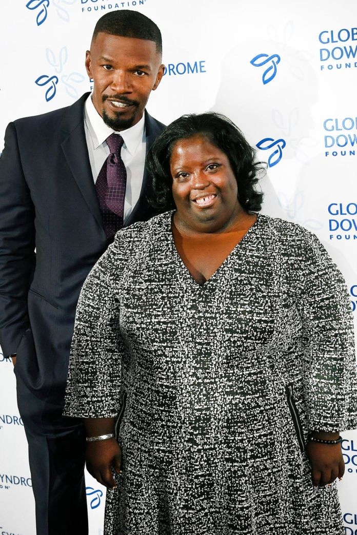 Jamie Foxx and Deondra Dixon