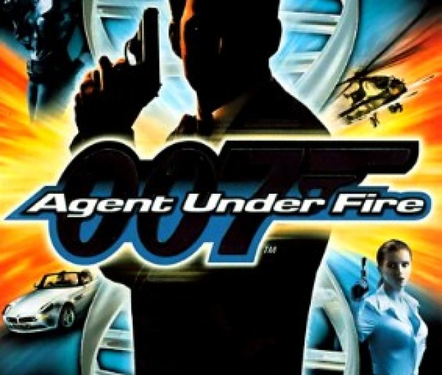 007 Agent Under Fire Cover Art