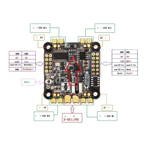 DYS F4 Flight Controller (Poker Face)