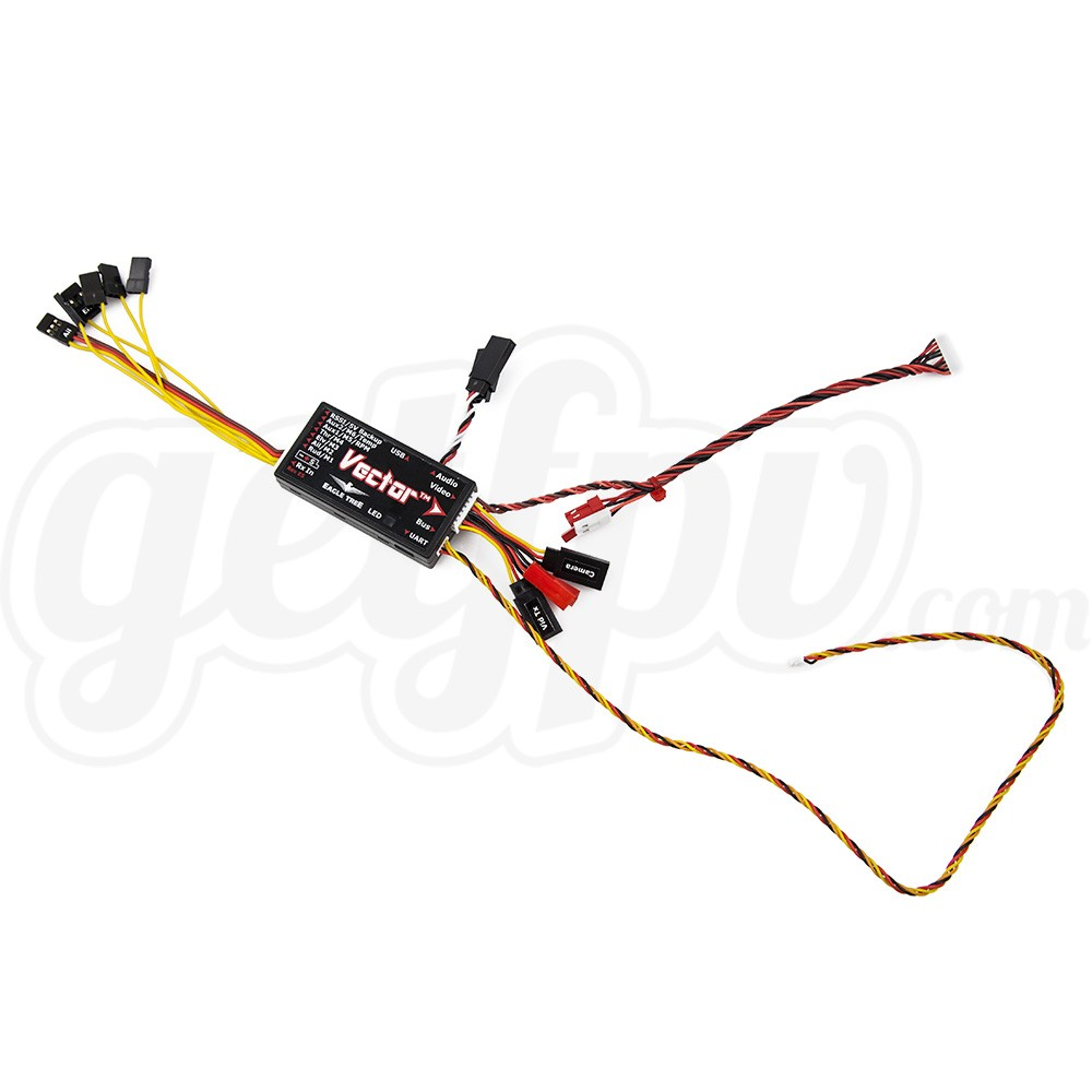 Eagle Tree Vector FPV Controller with Color OSD (Wire Leads)