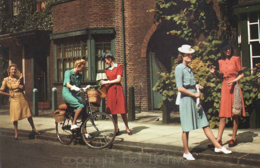 1940s Utility Fashion - women - Norman Hartnell Designer