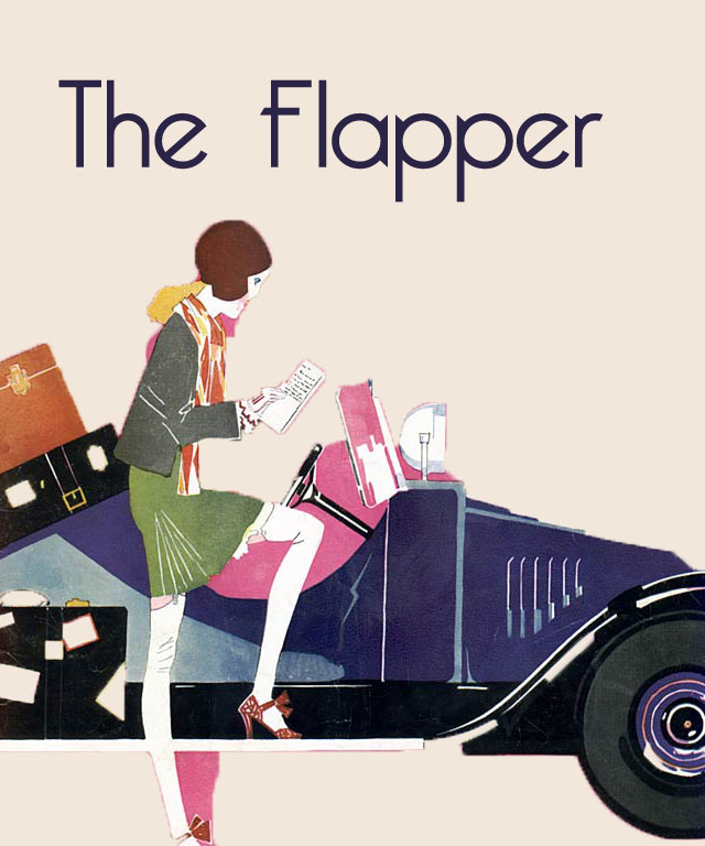 Flappers knew that clothing should be comfy and easy to dance in!