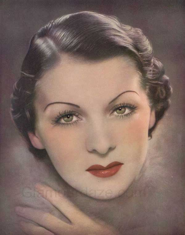 The History Of 1930s Makeup Glamourdaze