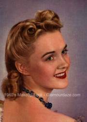 history of 1940s makeup - 1940