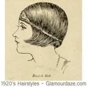 1920s hairstyles - 12 classic bob