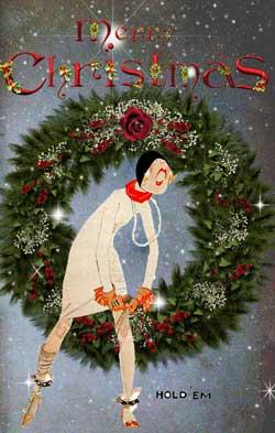 Vintage Christmas Cards From Glamourdaze Glamourdaze