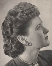 1940's hairstyles - sidesweep