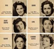 1940's bombshell hair and make