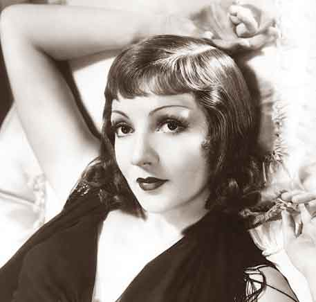 1930s Beauty Tips Claudette Colbert In 1933 Glamour Daze