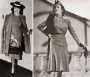 1940s fashion - edith head's winter