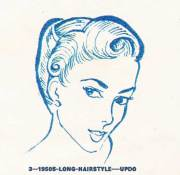 1950s hairstyles chart