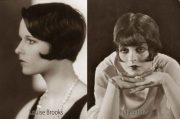 1920s hairstyles - bob suit