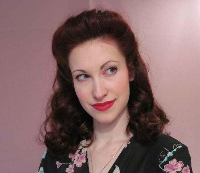 1940s hairstyles - memorable pompadours | glamour daze