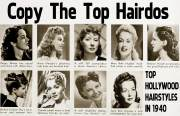 1940s hairstyle copy top