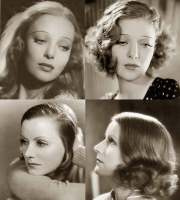 1930s hairstyles - face