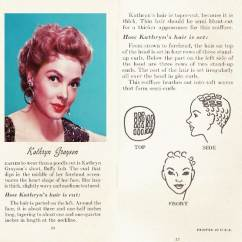 Pin Curl Diagram 4 Trailer Plug Wiring 10 Hollywood Hairstyles Of The 50s Glamour Daze How To Achieve Kathryn Grayson S Hairstyle