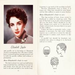 Vintage Pin Curls Diagram Magnetic Starter Wiring 10 Hollywood Hairstyles Of The 50s Glamour Daze 7 How To Achieve Elizabeth Taylor Poodle Cut Hairstyle