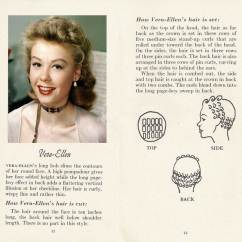 Vintage Pin Curls Diagram 1970 Fj40 Wiring 10 Hollywood Hairstyles Of The 50s Glamour Daze 8 How To Achieve Vera Ellen Hairstyle