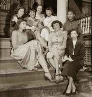 1940s black fashion