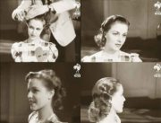 1940s hairstyle american wartime