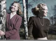 color archive of 1940s war era