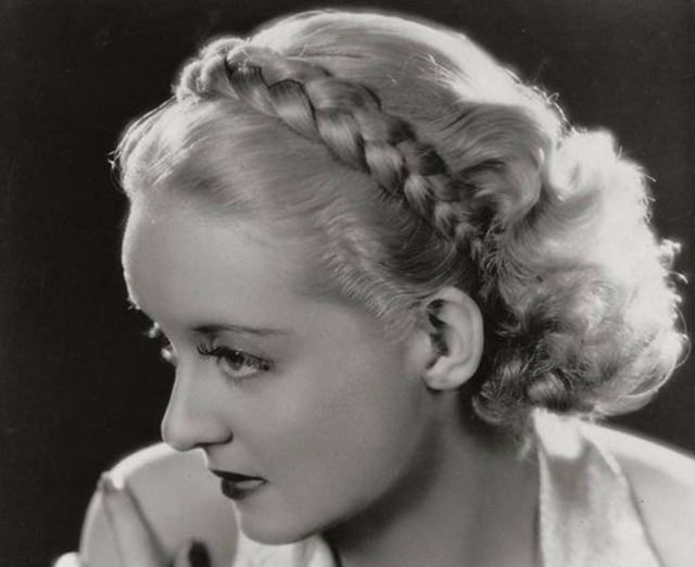 1930s hairstyles - detachable braids | glamour daze