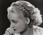 1930s hairstyles - detachable braids