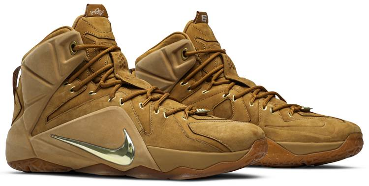 LeBron 12 EXT 'Wheat' - Nike - 744287 700 | GOAT