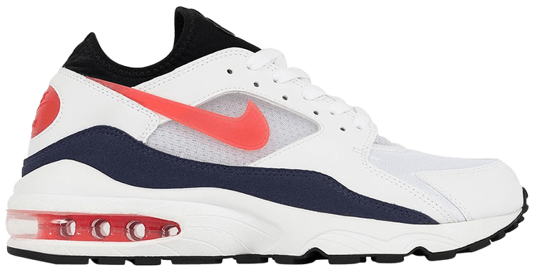 Air Max 93 OG 'Flame Red' - Nike - 306551 102 | GOAT