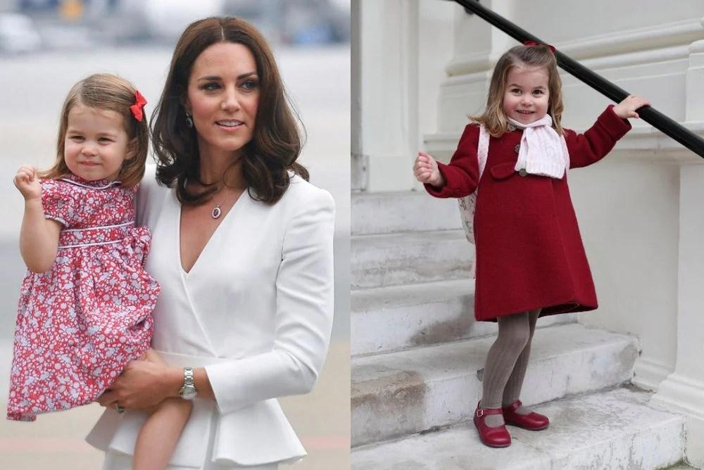 平價衣服卻能穿出英國夏洛特公主的貴族氣質?大眾化造型及品牌大公開。百多元可入手外套! - Goxip