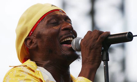 Jamaican singer Jimmy Cliff