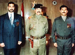 Saddam și a fiilor