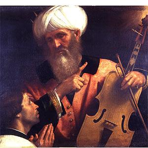 Moretto, King David