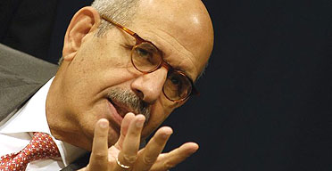 The head of the International Atomic Energy Agency (IAEA), Mohamed ElBaradei