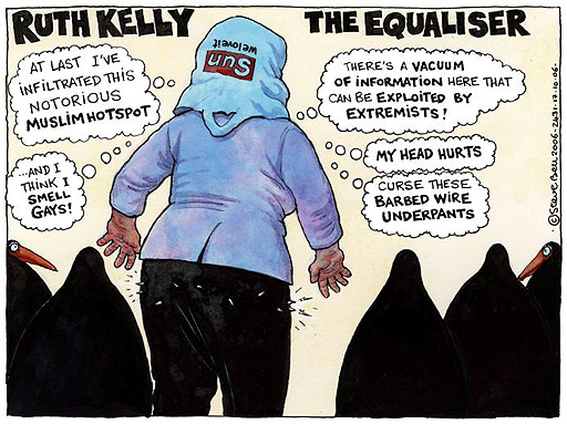 Ruth Kelly cartoon