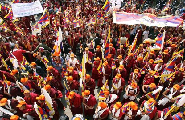 Tibetian protests