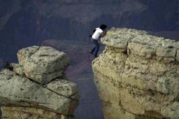 Grand Canyon jump