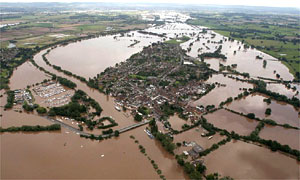 Flooding in the UK (from The Guardian)