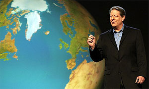 Al Gore in a still from 'An Inconvenient Truth'