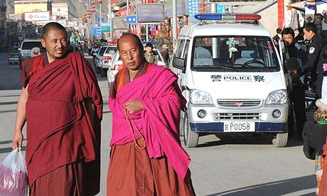 Buddhist  monks   ............in  Labrang , Tibet