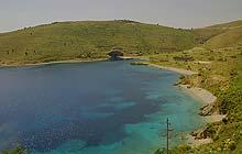 Beaches on the Albanian Riviera