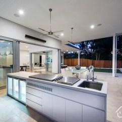 Patio Kitchen Jars 简约住宅设计赏析露台厨房 过家家装修效果图