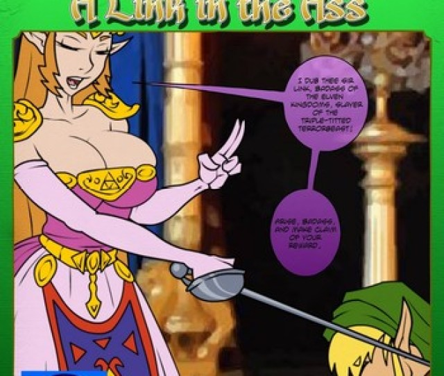 Zelda A Link In The Ass  Comic Porn