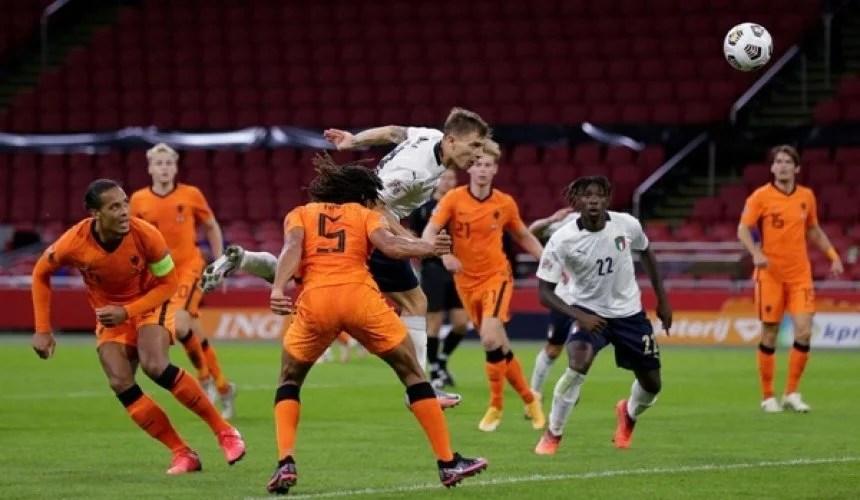 ไฮไลท์ฟุตบอลยูฟ่า เนชันส์ ลีก เนเธอร์แลนด์ 0-1 อิตาลี