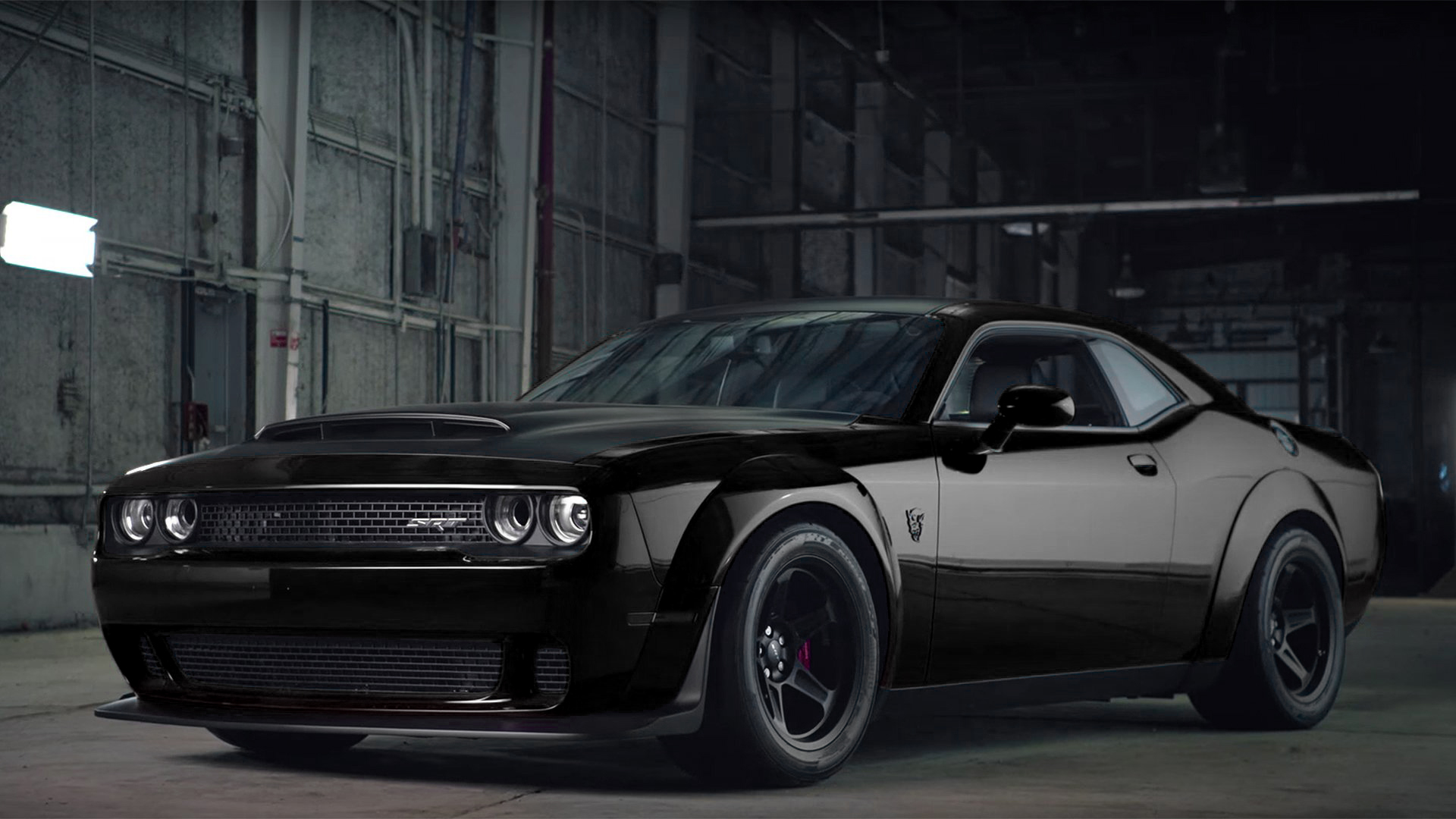 Hd Flat Black Muscle Car Wallpapers Pitch Black W Graphics Pkg Pictures Srt Hellcat Forum